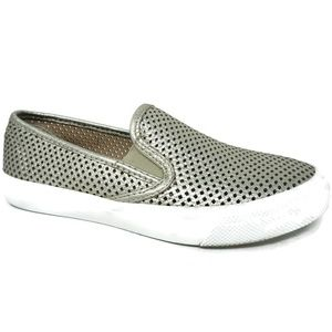 Sperry Seaside Perforated Slip-On Sneakers Size 6